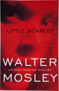 Books:Signed Editions, Walter Mosley. Little Scarlet. New York and Boston: Little, Brown and Company, [2004]. Advance reading copy, first e...