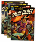 Golden Age (1938-1955):Science Fiction, Tom Corbett Space Cadet #8-11 Group (Dell, 1954).... (Total: 5Comic Books)