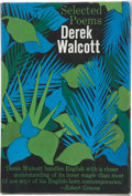 Books:Signed Editions, Derek Walcott. Selected Poems. New York: Farrar, Straus & Company, [1964]. First edition, first printing. Signed b...
