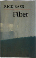 Books:First Editions, Rich Bass. Fiber. Athens, Georgia: University of GeorgiaPress, [1998]. First edition, first printing. Publisher's o...