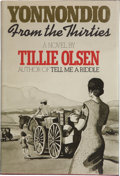 Books:Signed Editions, Tillie Olsen. Yonnondio From the Thirties. [N.p.]: Delacorte Press, [1974]. First edition, first printing. Signed ...