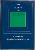 Books:Signed Editions, Robert Olen Butler. The Alleys of Eden. New York: Horizon Press, [1981]. First edition. Signed by the author. Pu...