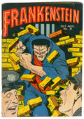 Golden Age (1938-1955):Horror, Frankenstein Comics #21 (Prize, 1952) Condition: FN/VF....