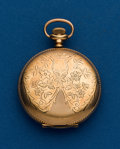 Timepieces:Pocket (post 1900), Waltham, 6 Size, Hunters Case. ...