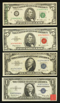 Error Notes:Error Group Lots, Mixed Lot of Small Size Notes, Including Errors.. ... (Total: 4notes)