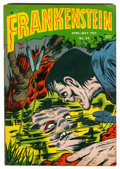 Golden Age (1938-1955):Horror, Frankenstein Comics #24 (Prize, 1953) Condition: FN/VF....