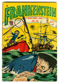 Golden Age (1938-1955):Horror, Frankenstein Comics #26 (Prize, 1953) Condition: VF....