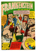 Golden Age (1938-1955):Horror, Frankenstein Comics #28 (Prize, 1953) Condition: FN....