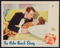 "The Palm Beach Story (Paramount, 1942). Lobby Card (11"" X 14""). Comedy"