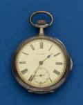 Timepieces:Pocket (post 1900), Swiss, Silver, Quarter Hour Repeater. ...