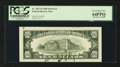 Error Notes:Ink Smears, Fr. 2027-B $10 1985 Federal Reserve Note. PCGS Very Choice New64PPQ.. ...