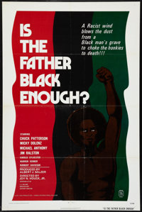 """Is the Father Black Enough? Lot (Howco, 1975). One Sheets (2) (27"""" X 41""""). Blaxploitation. ... (Total: 2 Items..."""