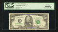 Error Notes:Skewed Reverse Printing, Fr. 2125-B $50 1993 Federal Reserve Note. PCGS Very Fine 30PPQ.....
