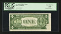 Error Notes:Obstruction Errors, Fr. 1614 $1 1935E Silver Certificate. PCGS Choice About New 55.. ...