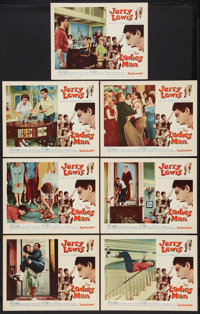 "Jerry Lewis Lot (Paramount, 1961-1962). Lobby Cards (13) (11"" X 14""). Comedy. ... (Total: 13 Items)"