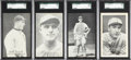 Baseball Cards:Lots, 1923 Exhibits Baseball SGC-Graded Group (4) With Al Simmons Rookie! ...