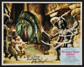 "Movie Posters:Fantasy, The Golden Voyage of Sinbad (Columbia, 1973). Autographed LobbyCard (11"" X 14""). Fantasy.. ..."
