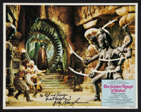 "The Golden Voyage of Sinbad (Columbia, 1973). Autographed Lobby Card (11"" X 14""). Fantasy"