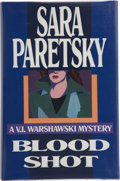 Books:Signed Editions, Sara Paretsky. Blood Shot. New York: Delacorte Press, [1988]. First edition, first printing. Signed by the author...