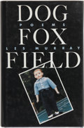 Books:Signed Editions, Les Murray. Dog Fox Field. New York: Farrar Straus Giroux, 1992. First American edition. Signed by the author ...