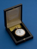 Timepieces:Pocket (post 1900), Howard, 21 Jewel, Series 10 With Original Box. ...