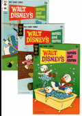 Bronze Age (1970-1979):Cartoon Character, Walt Disney's Comics and Stories File Copies Group (Gold Key,1968-80) Condition: Average VF+.... (Total: 101 Comic Books)