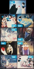 "Movie Posters:Animated, Disney Cartoon Lot (Various, 1970s- 1990s). French Lobby Cards (53)(9.25"" X 11.5"") and Mini Lobby Card Set of 8 (8"" X 10"").... (Total:61 Items)"