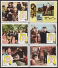 """Movie Posters:War, The Guns of Navarone Lot (Columbia, 1961). Lobby Cards (6) (11"""" X14""""). War.. ... (Total: 6 Items)"""