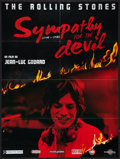 """Movie Posters:Rock and Roll, Sympathy for the Devil (Carlotta Films, R-2006). French Affiche(23.5"""" X 31.5"""") DS, French Lobby Card Set of 4 (8.25"""" X 11.7...(Total: 8 Items)"""