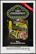"""Movie Posters:Musical, That's Entertainment! (MGM, 1974). One Sheet (27"""" X 41"""") FlatFolded. Musical.. ..."""