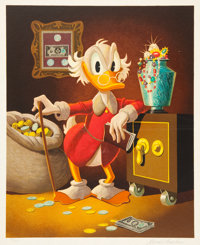Carl Barks The Money Lender Deluxe Edition Lithograph #73/100 (Another Rainbow, 1983)