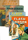Golden Age (1938-1955):Science Fiction, Flash Gordon Group (Dell, 1935-43).... (Total: 4 Comic Books)
