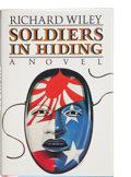 Books:First Editions, Richard Wiley. Soldiers in Hiding. A Novel. BostonNew York: The Atlantic Monthly Press, [1986]. First edition. ...