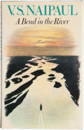 Books:First Editions, V. S. Naipaul. A Bend in the River. [London]: Andre Deutsch,[1979]. First edition. Publisher's original binding and...