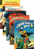 Golden Age (1938-1955):Miscellaneous, John Carter of Mars Group (Dell/Gold Key, 1952-64).... (Total: 5 Comic Books)