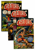 Bronze Age (1970-1979):Horror, Creatures on the Loose Group (Marvel, 1971-75) Condition: AverageFN/VF.... (Total: 22 Comic Books)