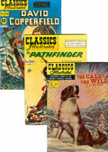 Golden Age (1938-1955):Classics Illustrated, Classics Illustrated Group (Gilberton, 1950s) Condition: AverageVG.... (Total: 28 Comic Books)