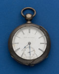 Timepieces:Pocket (post 1900), Elgin, 18 Size, 4 Oz. Coin Silver, Key Wind. ...
