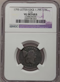 Half Cents: , 1795 1/2 C Lettered Edge--Corrosion--NGC Details. VG. C-2a. NGCCensus: (2/47). PCGS Population (5/110). Mintage: 139,690....