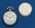 Timepieces:Pocket (post 1900), South Bend, 16 Size, 17 Jewel. ...