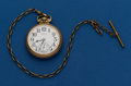Timepieces:Pocket (post 1900), Illinois, 16 Size With Chain, 17 Jewel, Grade 167. ...