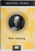 Books:Signed Editions, Jonathan Spence. Mao Zedong. [New York, et al.]: A Lipper / Viking Book, [1999]. First edition. Signed and dated i...