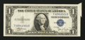 Error Notes:Attached Tabs, Fr. 1612 $1 1935C Silver Certificate. Very Fine.. ...
