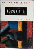 Books:First Editions, Stephen Dunn. Loosestrife. Poems. New York London: W.W. Norton & Company, [1996]. First edition. Publisher's or...