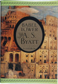 Books:Signed Editions, A. S. Byatt. Babel Tower. New York: Random House, [1996]. First U.S. edition. Inscribed, signed and dated in Washi...