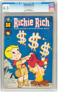 Silver Age (1956-1969):Humor, Richie Rich CGC-Graded Group (Harvey, 1962-66).... (Total: 9 Comic Books)