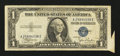 Error Notes:Attached Tabs, Fr. 1612 $1 1935C Silver Certificate. Fine-Very Fine.. ...