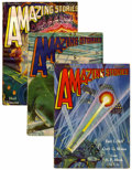 Pulps:Science Fiction, Amazing Stories Group (Ziff-Davis, 1929).... (Total: 12 Items)