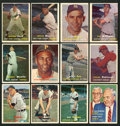 Baseball Cards:Lots, 1957 Topps Baseball Collection (152) With Mantle & OtherHoFers! ...