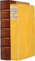 Books:First Editions, Sherwood Anderson. Winesburg, Ohio. A Group of Tales ofOhio Small Town Life. New York: B. W. Huebsch, 1919. Oct...